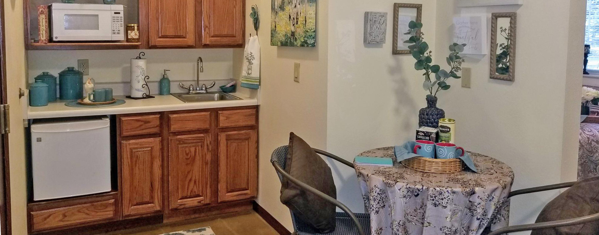 Enjoy senior friendly amenities, personal climate control and security in an apartment at Bickford of Battle Creek