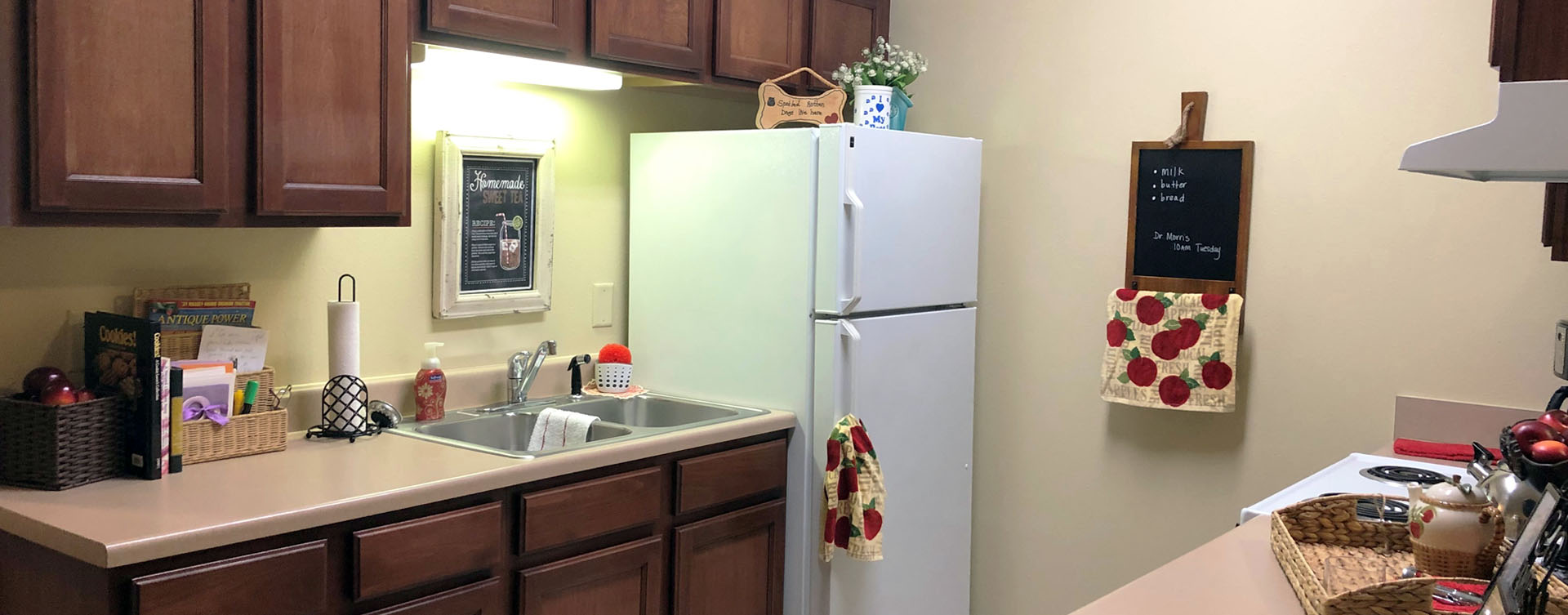 Get a new lease on life with a cozy apartment at Bickford of Bourbonnais
