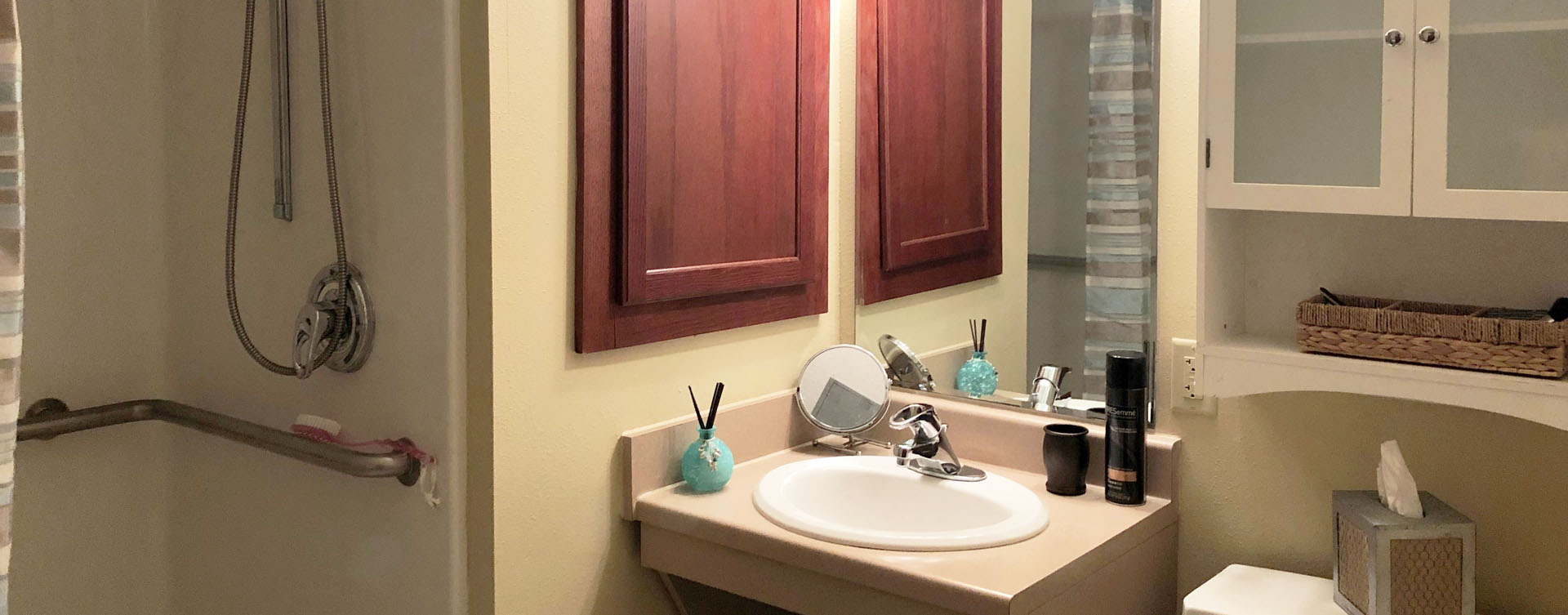 Personalize and decorate to your unique tastes an apartment at Bickford of Bourbonnais