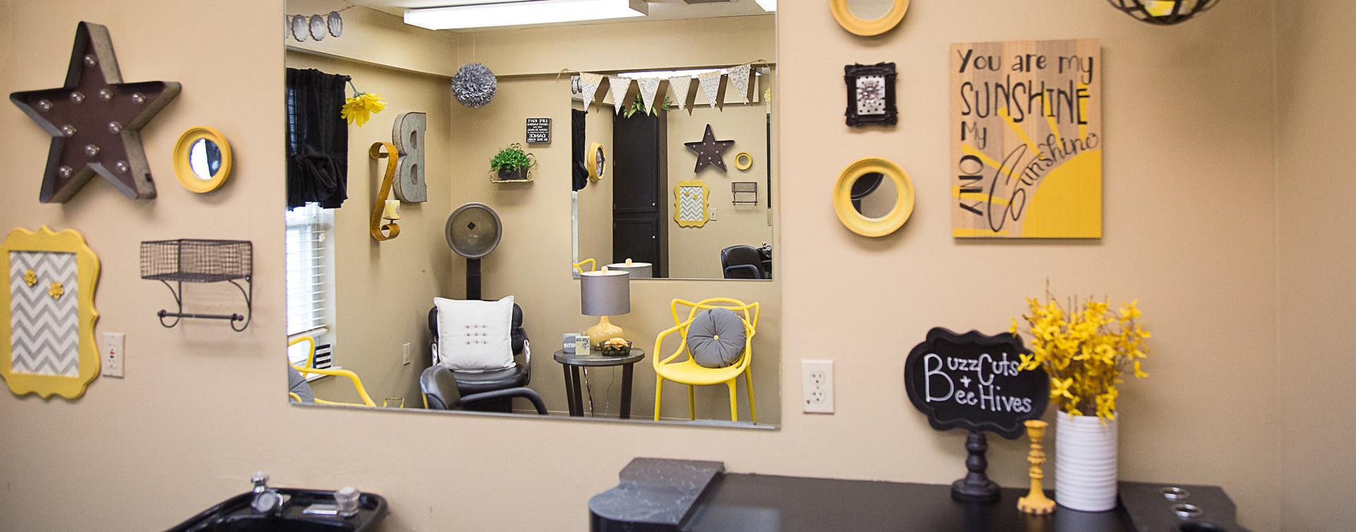 Love your own stylist? She's welcome to take care of you in the salon at Bickford of Burlington