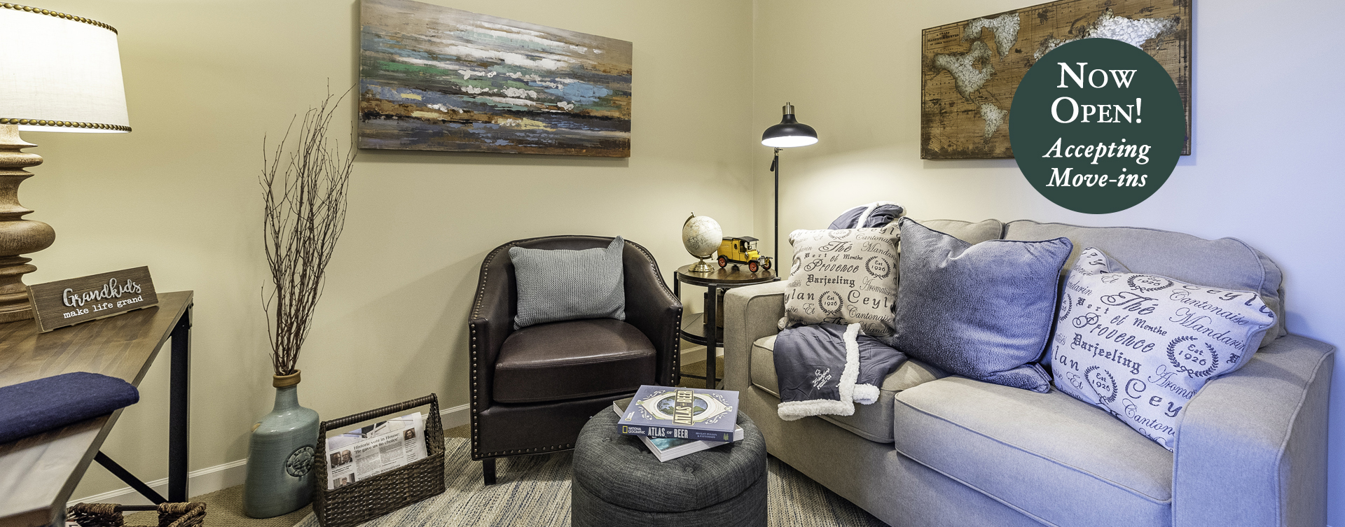 Enjoy senior friendly amenities, personal climate control and security in an apartment at Bickford of Canton