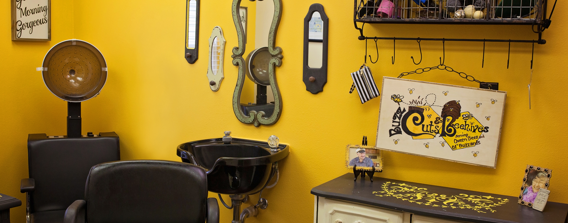 Receive personalized, at-home treatment from our stylist in the salon at Bickford of Cedar Falls