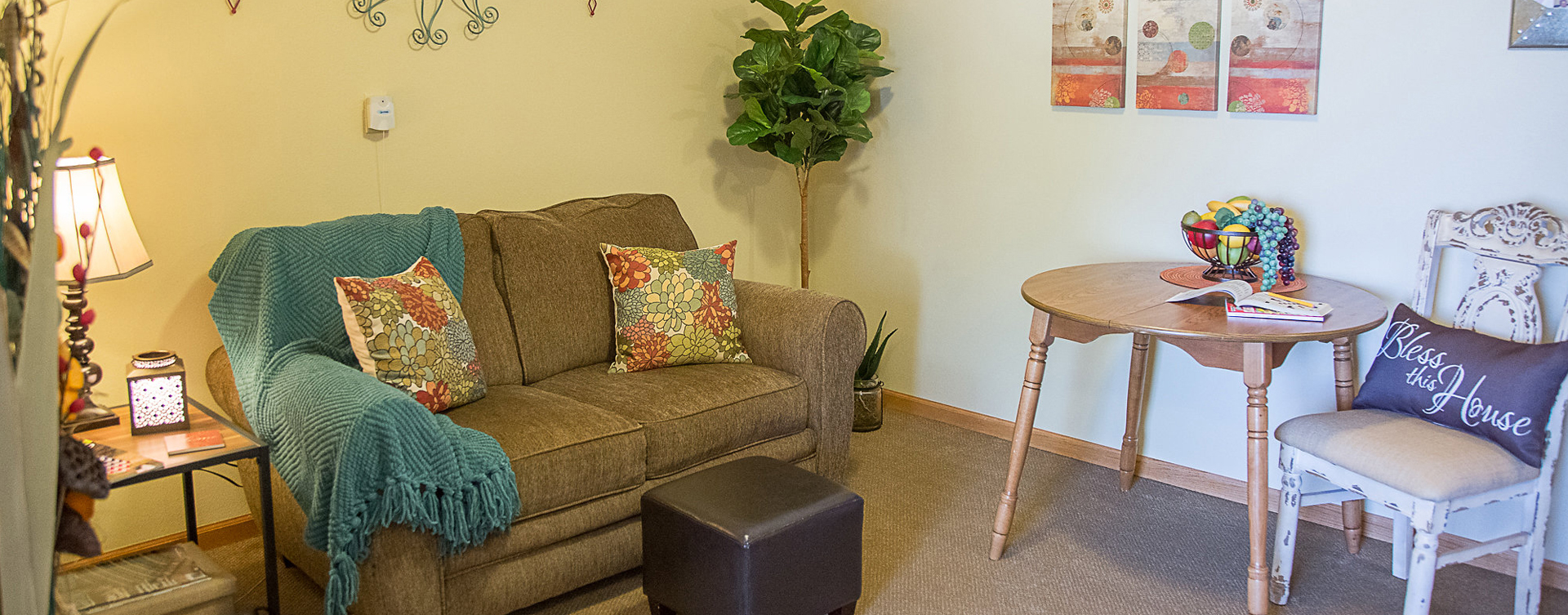 Enjoy senior friendly amenities, personal climate control and security in an apartment at Bickford of Cedar Falls