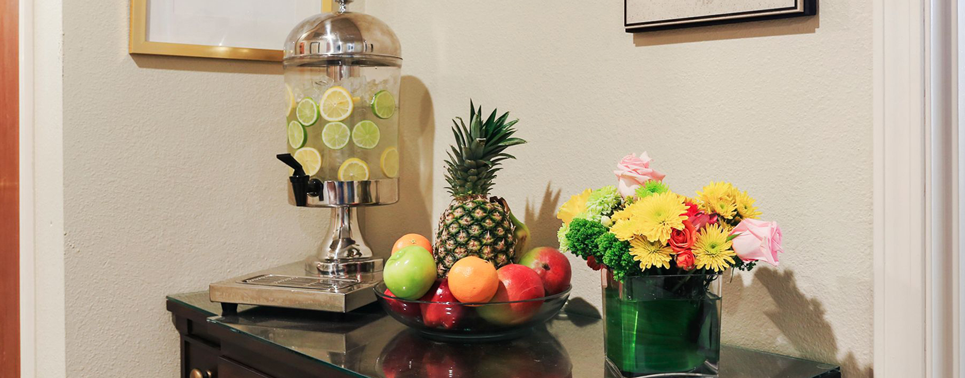 We're serving up snacks, beverages and service around the clock in the bistro at Bickford of Champaign