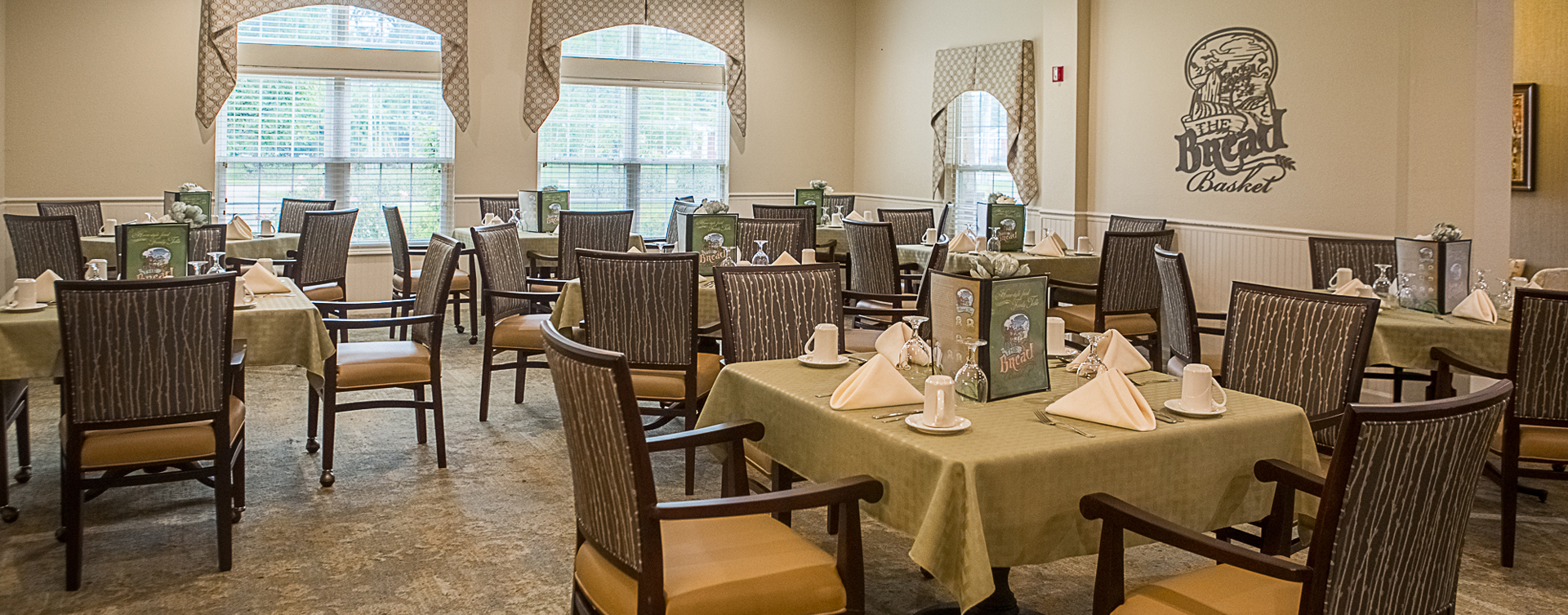 Enjoy homestyle food with made-from-scratch recipes in our dining room at Bickford of Clinton