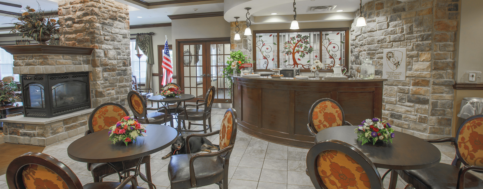 We're serving up snacks, beverages and service around the clock in the bistro at Bickford of Carmel