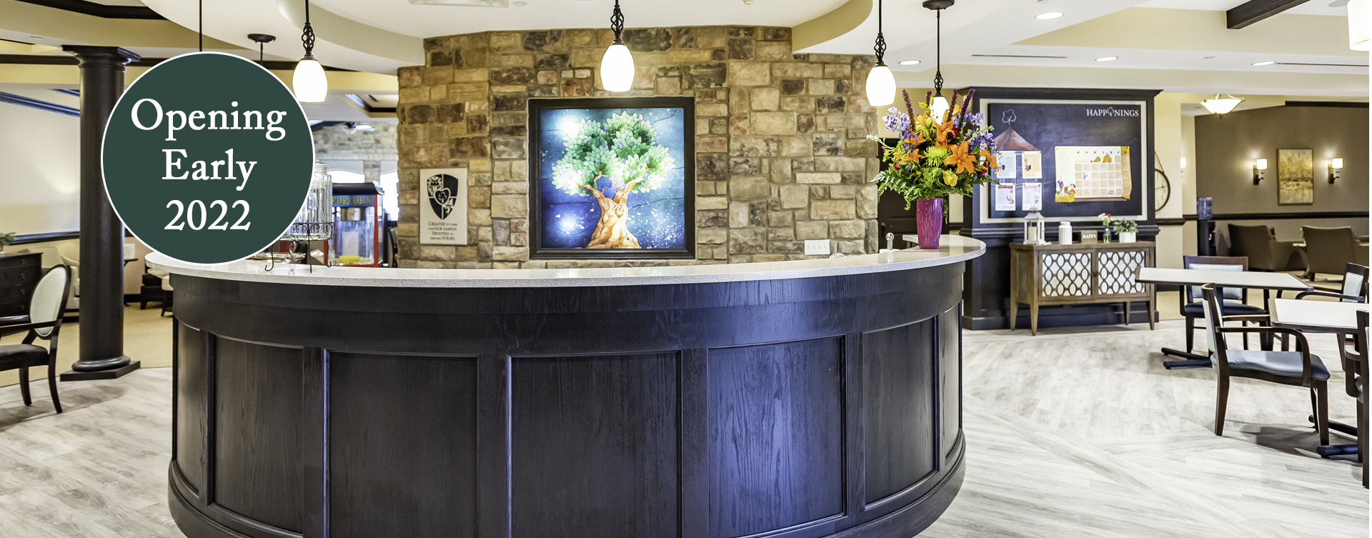 Intimate enough to entertain your closest family; you can even host your next get together in the bistro at Bickford of Chesapeake