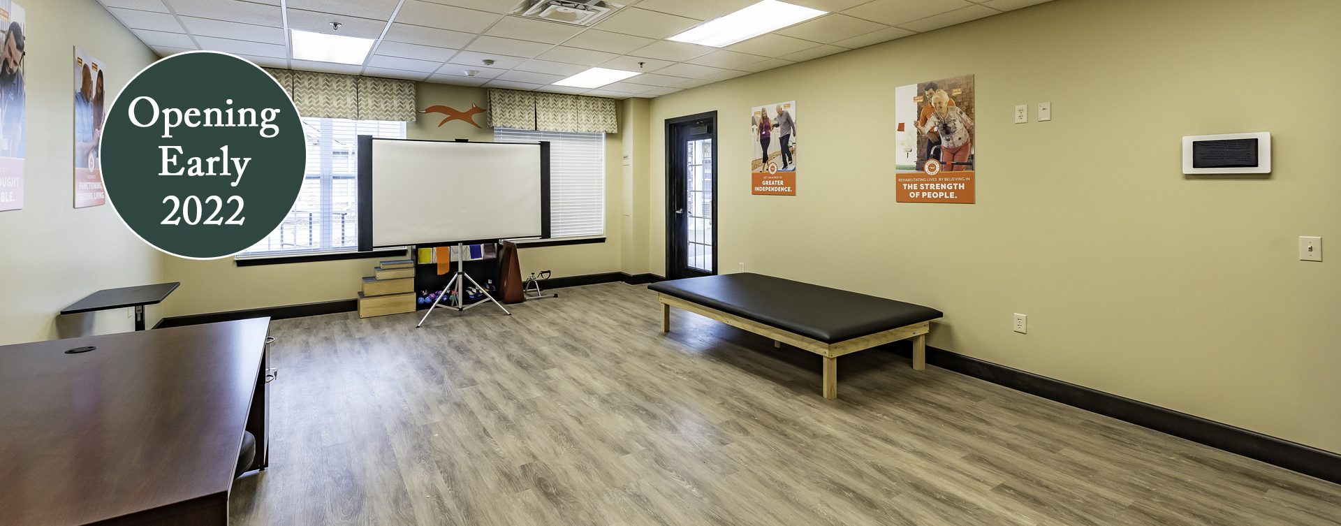 Receive on-site physical, occupational and speech therapy through our partnership with Fox Rehab at Bickford of Canton