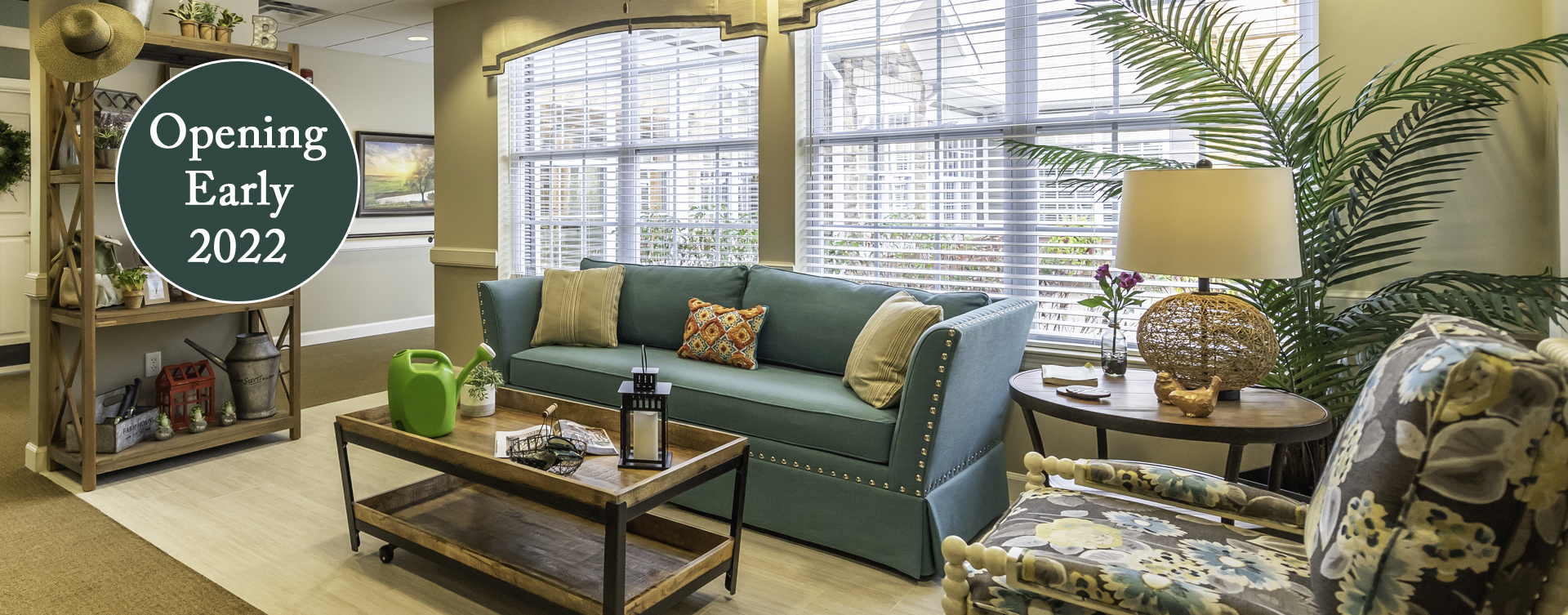 Curl up with a good book in the sunroom at Bickford of Chesapeake