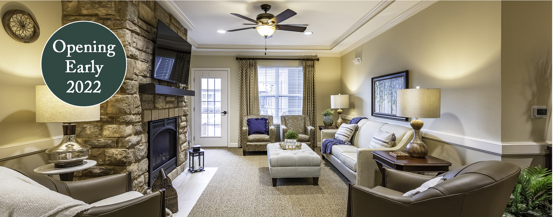 Enjoy a good snooze in the sitting area at Bickford of Chesapeake