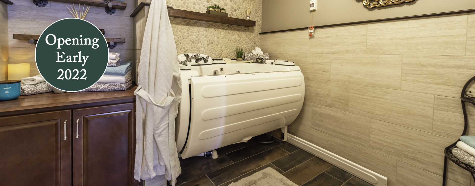 Our whirlpool bathtub creates a spa-like environment tailored to enhance your relaxation and enjoyment at Bickford of Chesapeake
