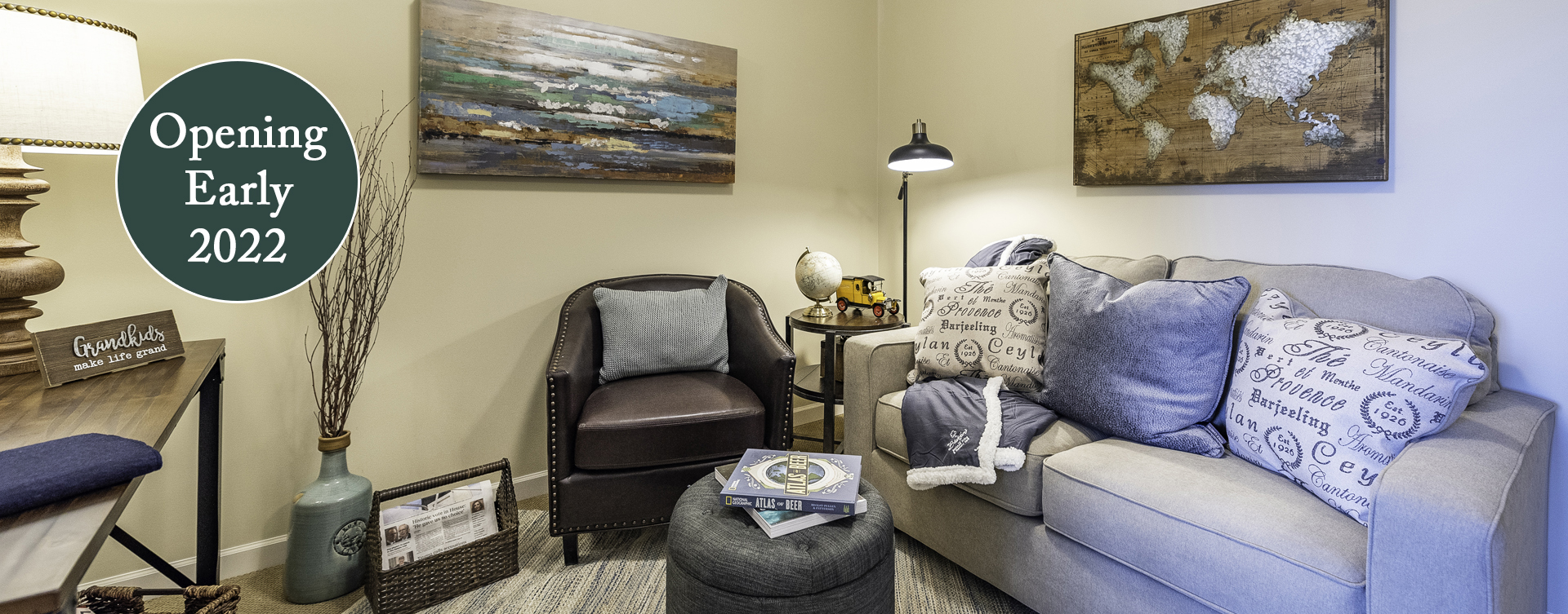 Enjoy senior friendly amenities, personal climate control and security in an apartment at Bickford of Chesapeake