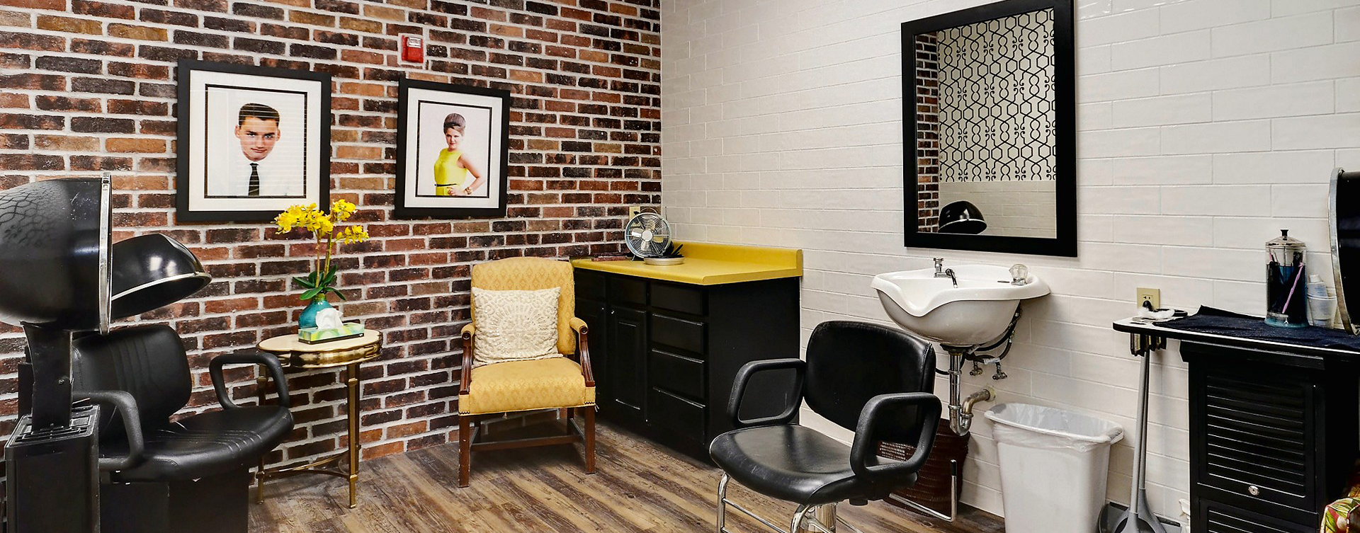 Receive personalized, at-home treatment from our stylist in the salon at Bickford of Crystal Lake