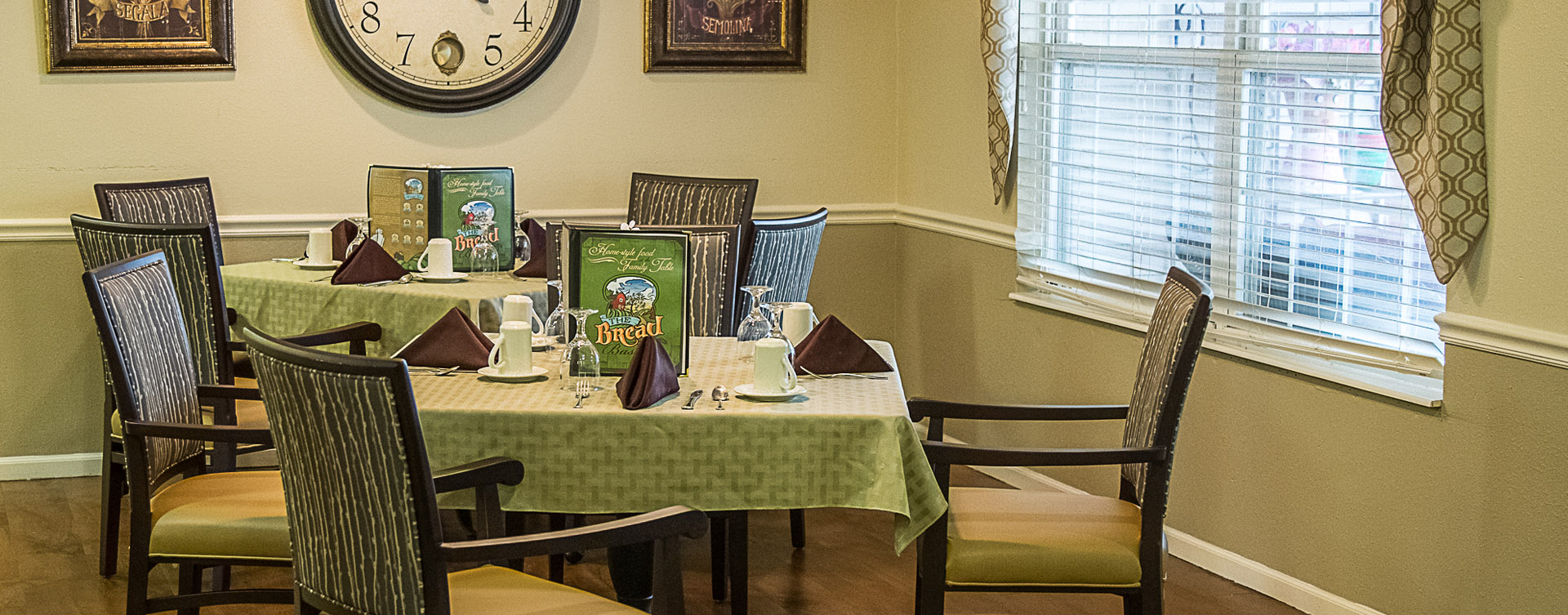 Mary B's country kitchen evokes a sense of home and reconnects residents to past life skills at Bickford of Davenport