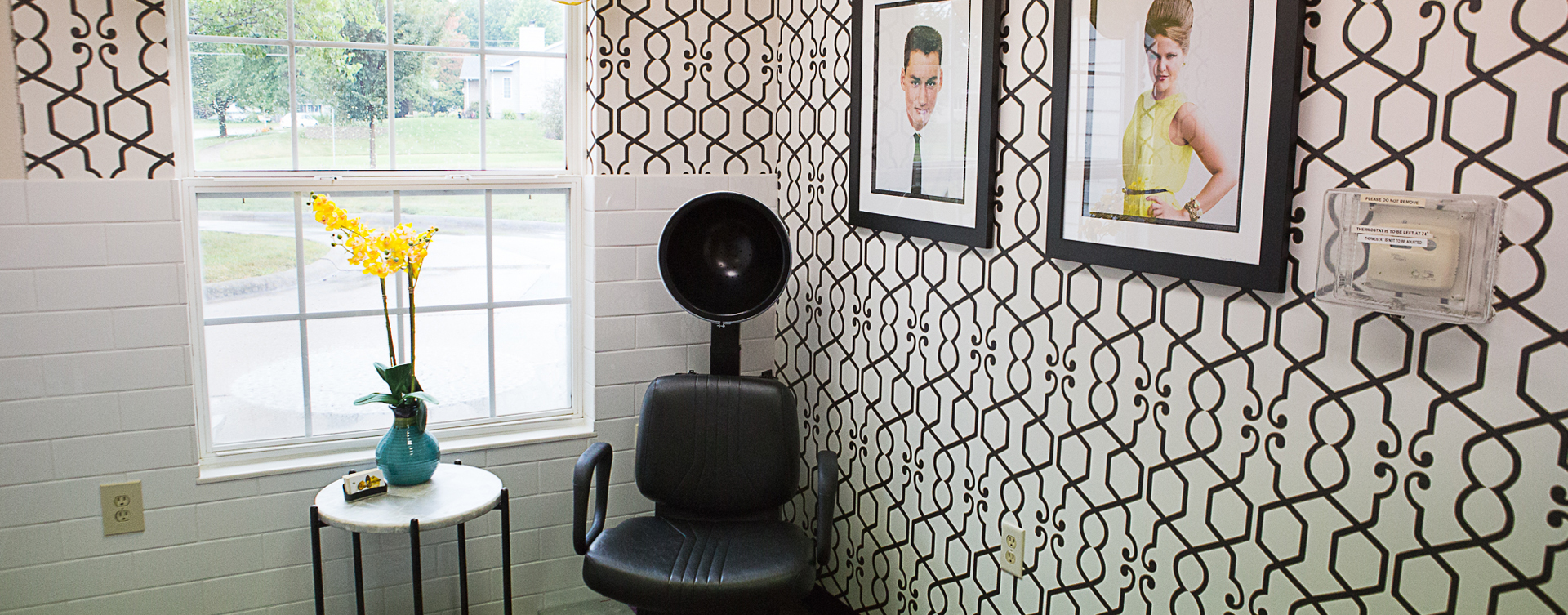 Strut on in and find out what the buzz is all about in the salon at Bickford of Iowa City