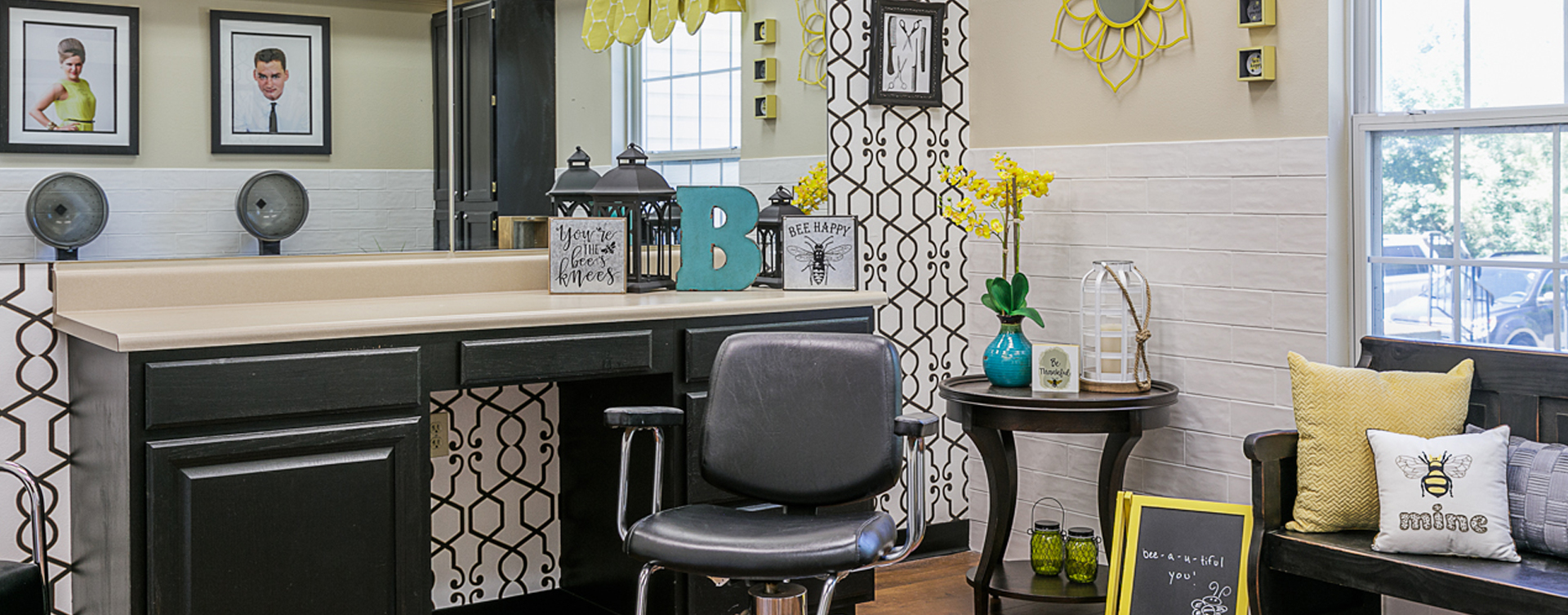 Strut on in and find out what the buzz is all about in the salon at Bickford of Marshalltown