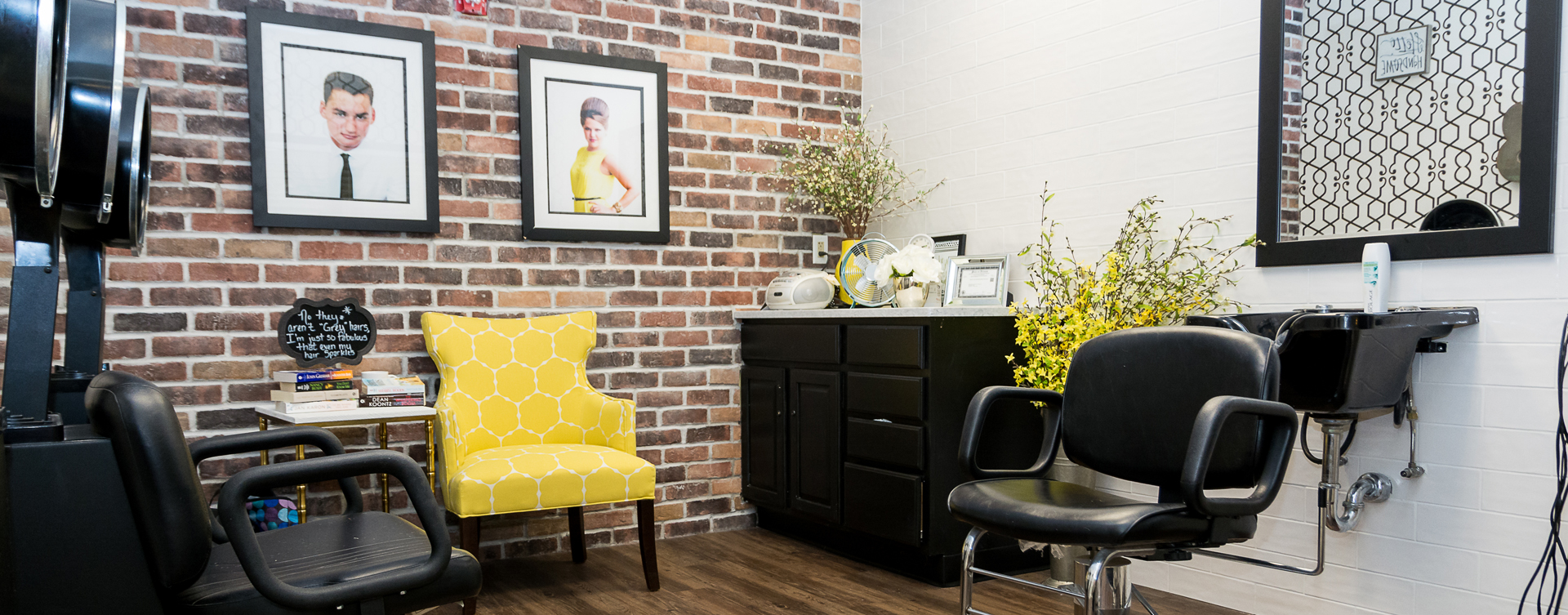 Strut on in and find out what the buzz is all about in the salon at Bickford of Oswego