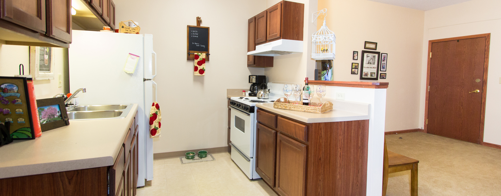 Enjoy senior friendly amenities, personal climate control and security in an apartment at Bickford of Rockford