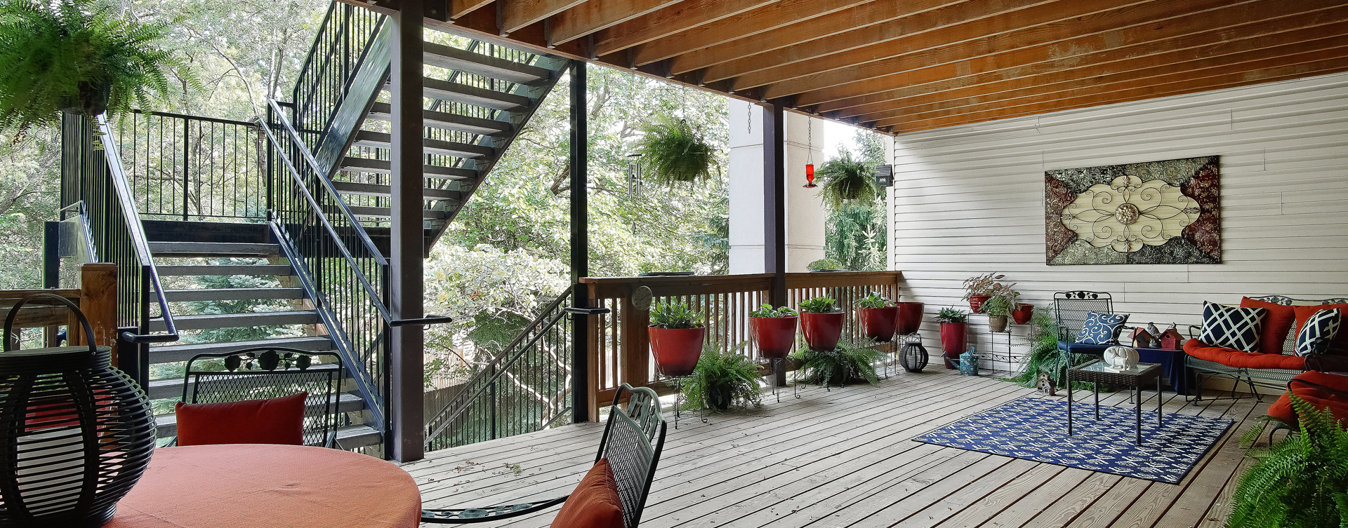 Enjoy the outdoors in a whole new light by stepping onto our back deck at Bickford of Raytown