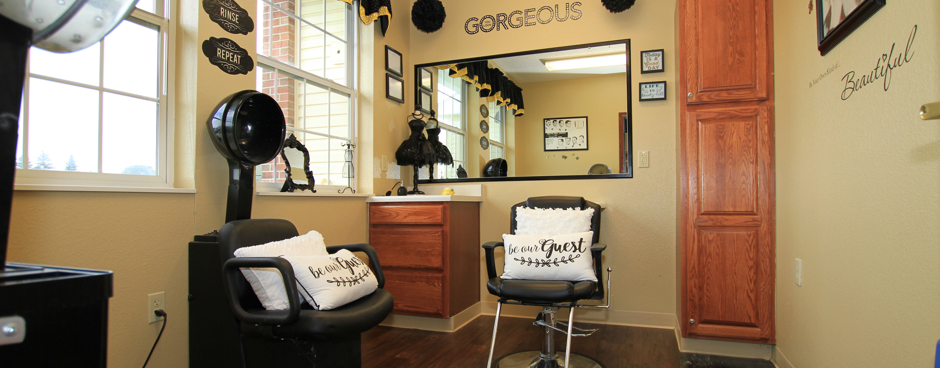 Strut on in and find out what the buzz is all about in the salon at Bickford of Saginaw Township
