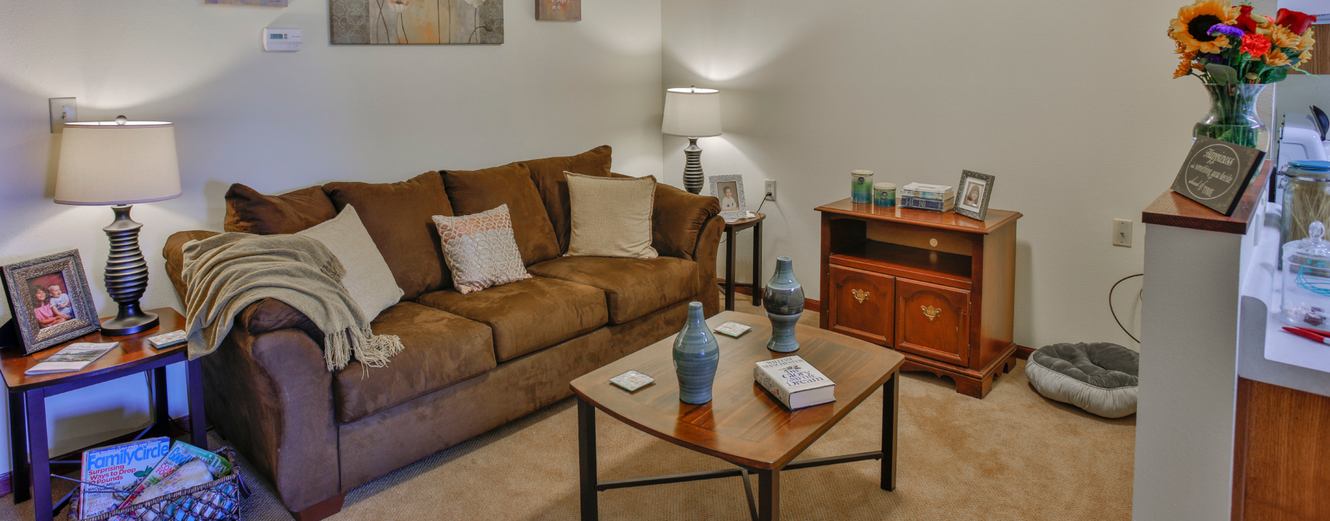 Get a new lease on life with a cozy apartment at Bickford of Springfield