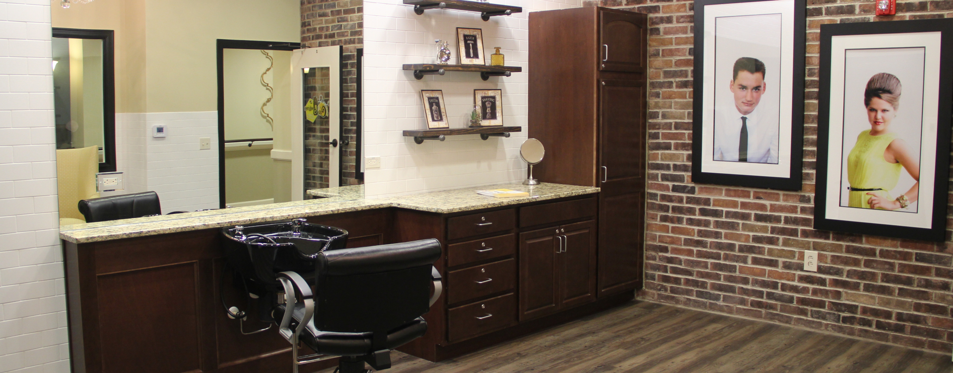 Receive personalized, at-home treatment from our stylist in the salon at Bickford of Tinley Park