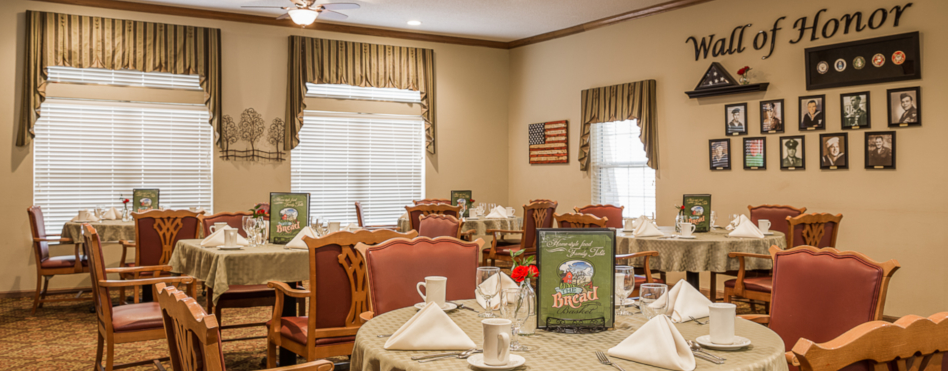 Enjoy homestyle food with made-from-scratch recipes in our dining room at Bickford of Urbandale