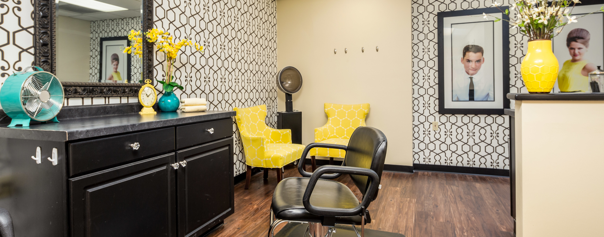 Strut on in and find out what the buzz is all about in the salon at Bickford of West Lansing