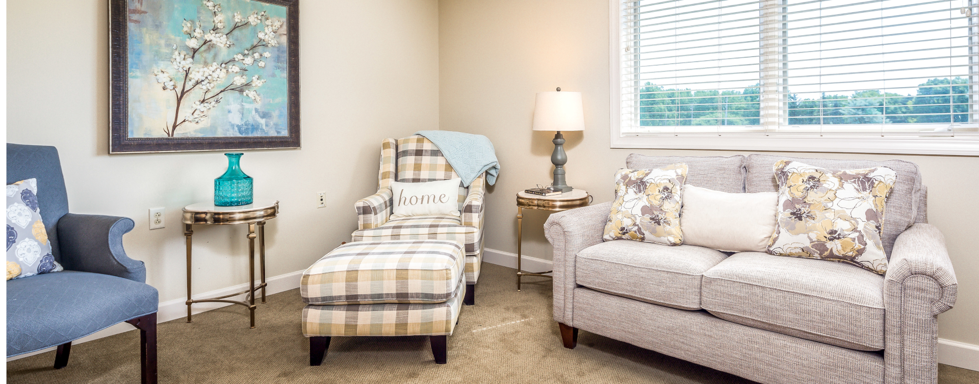 Enjoy senior friendly amenities, personal climate control and security in an apartment at Bickford of West Lansing